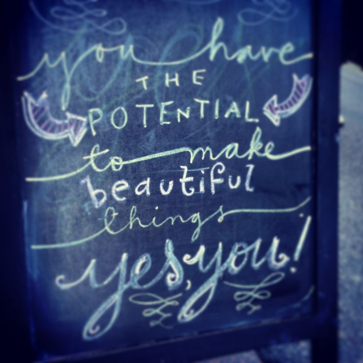 Yes, you! daily quote & lovely thoughts