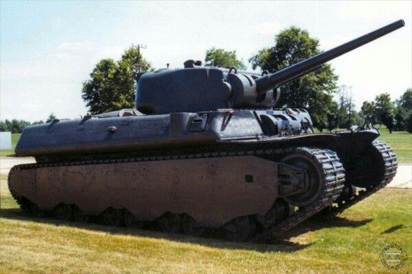 T1E1 preserved at Aberdeen Proving Ground