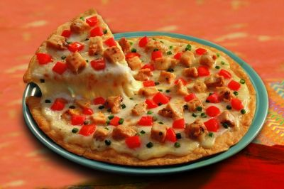 Carlos O' Kellys ~ Fajita Cheese Crisp