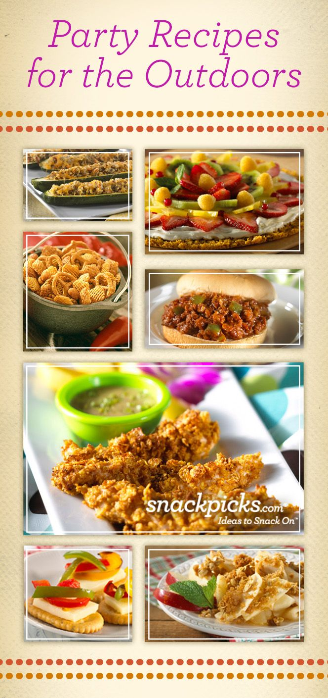 Outdoor Party Recipes! Pier1OutdoorParty Sponsored MC