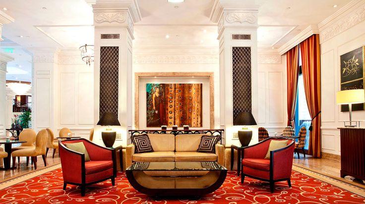 Enjoy the tranquility of Le Bar Lobby