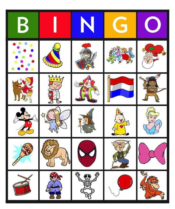 Feest: Bingo carnaval 4