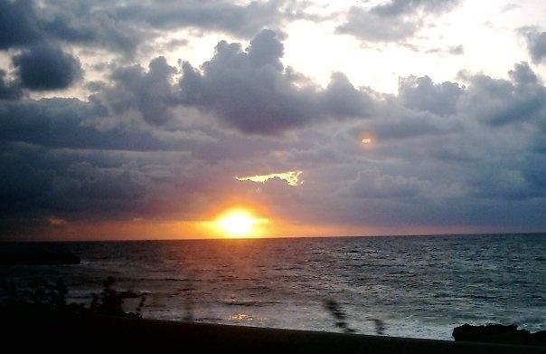 My loved sunset...