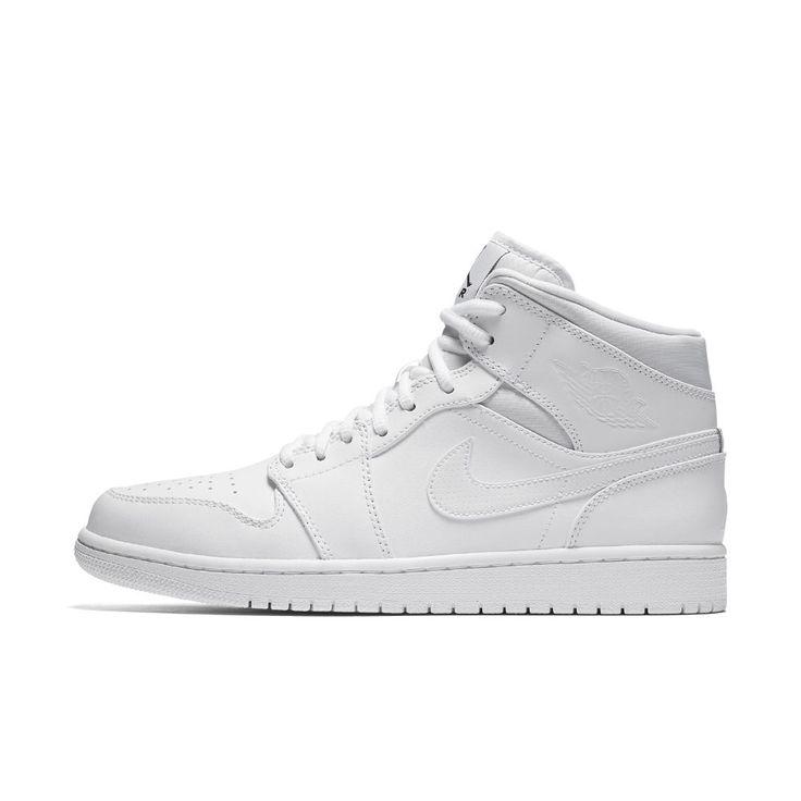all white jordans