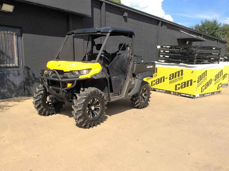 "New 2016 Can-Am Defender DPSâ""¢ HD8 ATVs For Sale in Louisiana. Take control with the Defender DPSâ""¢ that features comfortable Dynamic Power Steering (DPS), lightweight wheels and tires, adaptable storage, Visco Lok and more to make your job easier. PRICE INCLUDES ALL REBATES AND DISCOUNTS FREIGHT AND PREP CHARGES ADDITIONAL Dimensions: - Wheelbase: 83 in. (211.5 cm) Operational: - Shocks: Twin tube gas charged shocks"