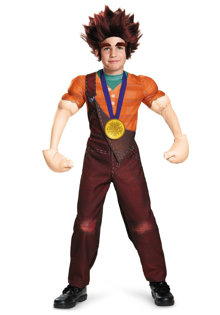 Child Deluxe Wreck It Ralph Costume Wreck it ralph