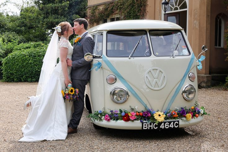 Would you like to stand out from the rest, but still want to be a little traditional with a white wedding car? Why not opt for our cute little 1965 vintage VW camper van wedding car. Available to hire in London, Kent, Essex, Sussex and Surrey. Customise to suit your …