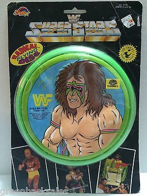 (TAS008573) - WWE WWF WCW Wrestling Radical Flying Disc - Ultimate Warrior