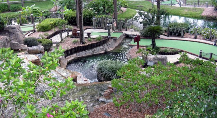 We create stunning miniature golf course designs that appeal both to kids and adults. Mini Golf Creations
