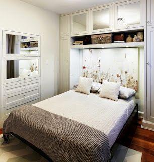 1000 images about dormitorios peque os matrimoniales on for Ideas para dormitorios pequenos