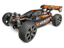 101709 - HPI Vorza Flux HP RTR 2.4GHz  Pre-Assembled 1/8th scale 4WD electric powered buggy with radio system, FLUX TORK brushless motor, FLUX BLUR electronic speed control, and painted body.