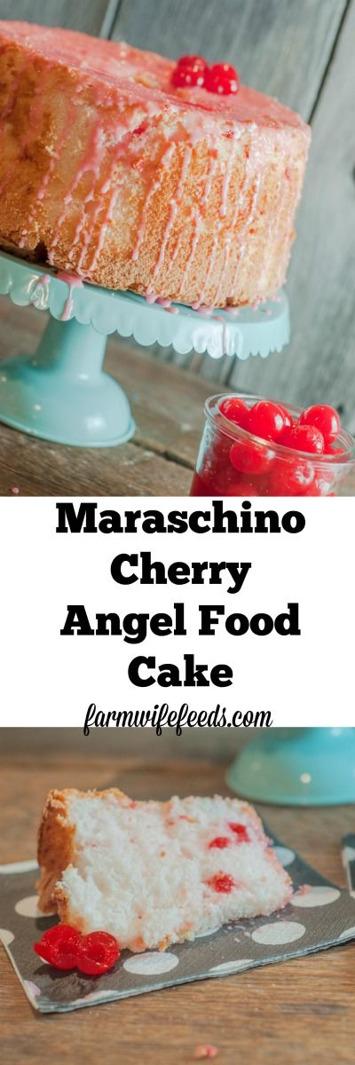 Cherry Delight Dessert With Angel Food Cake
