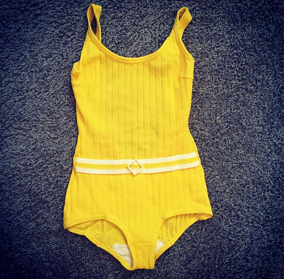 Vintage Bathing Suit / X Small  Small by MarshmallowElectra
