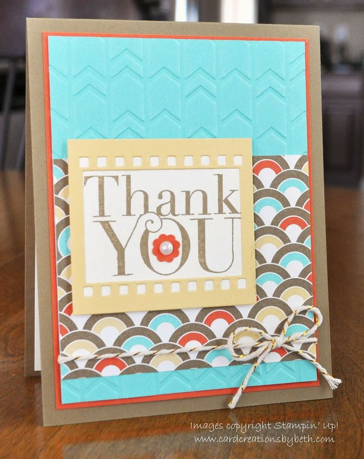 400 best stampin up thank you card ideas images by stampin up with sketch challenge reject card creations by beth stampin up 2014 occasions m4hsunfo