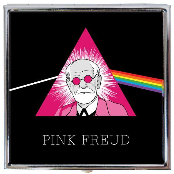 Pill box  - Pink Freud