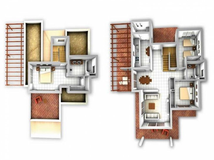 165 best images about home design on pinterest home Free online 3d floor plan maker