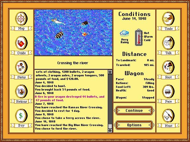 Oregon Trail Game Oregon trail game, Oregon trail
