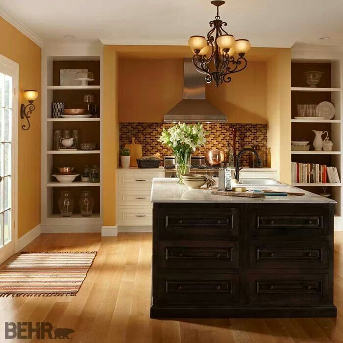 Living Room Colors: Behr: Kenya PPU4-16 For Living Room Color Change!!