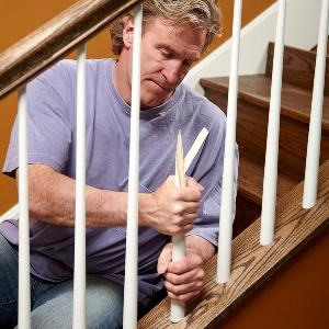 Future reference! How to Install Replacement Stair Spindles