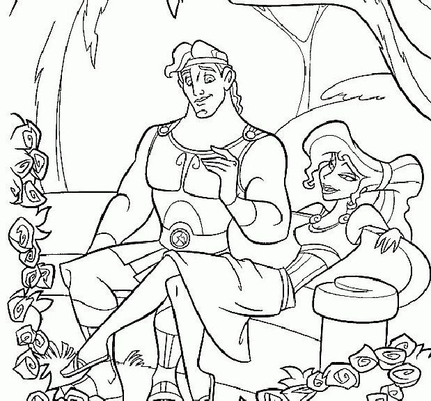 find this pin and more on hercules coloring pages