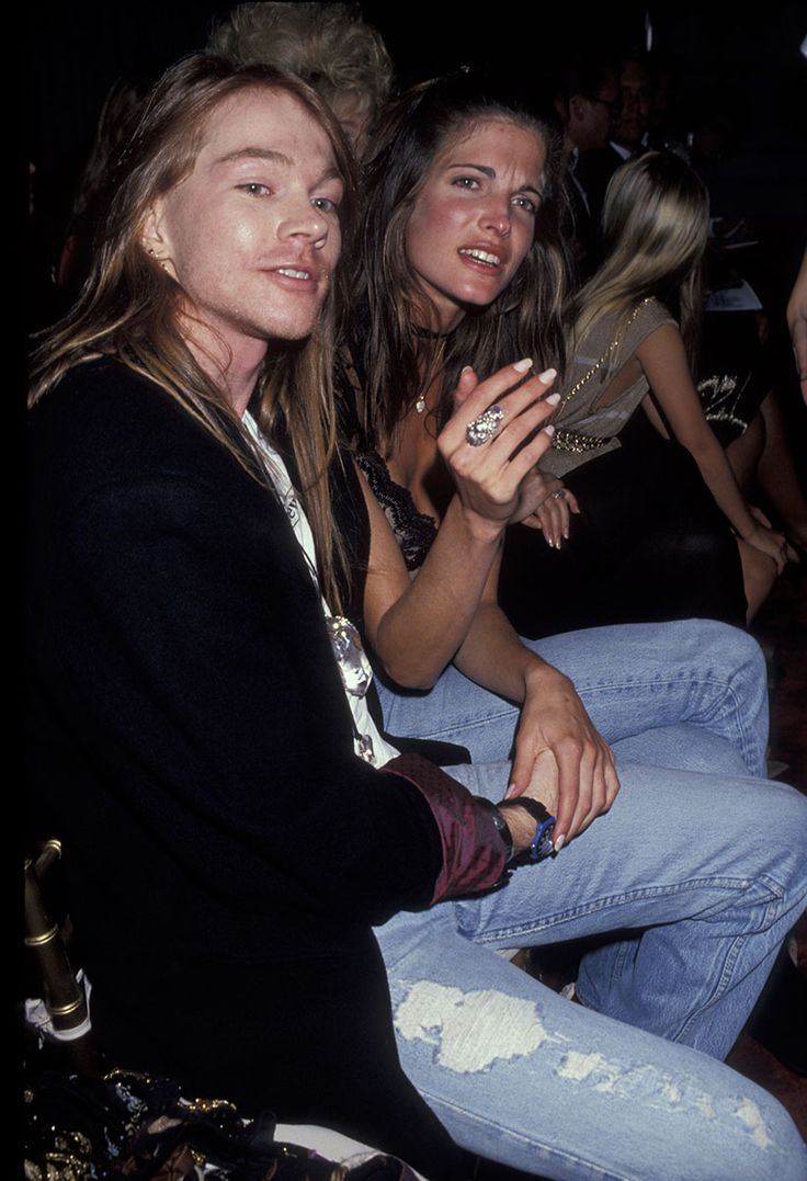 Axl Rose and Stephanie Seymour - Photo: Getty Images