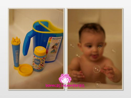 Baby bath and cleaning