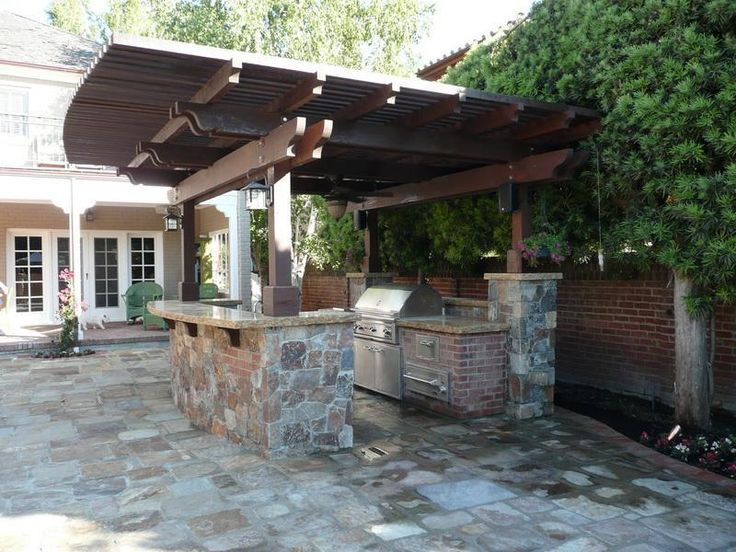 small rustic outdoor kitchen designs   18 best images about Outdoor kitchen ideas on Pinterest ...