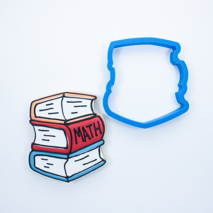 This 3D printed stack of books cookie cutter has been crafted for durability and quality. All cutters designed, engineered and tested by a fellow cookie enthusiast. Home page: www.frosted.co Collectio
