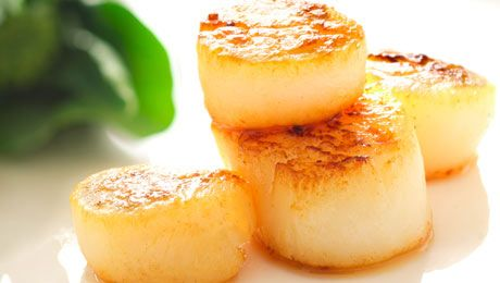 Love Irish Seafood? Click here for Kevin Dundon's recipe for Pan Seared Scallops with Fennel Salad. #EatIrish
