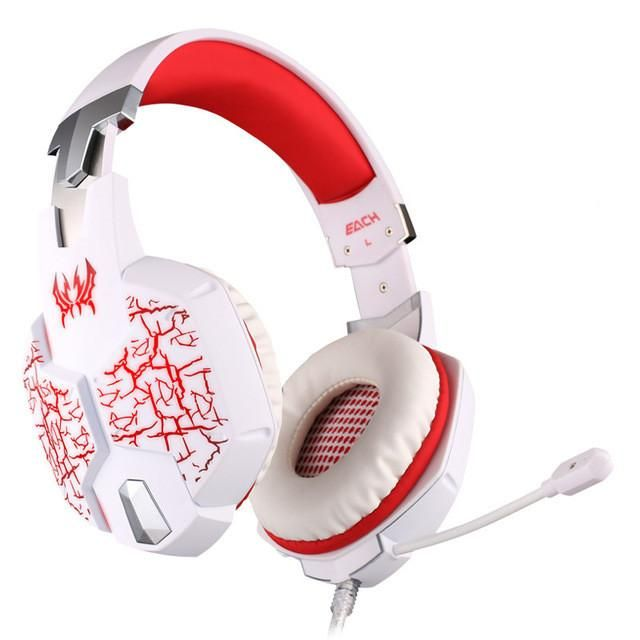 2016 New 3.5mm bass Game Gaming Headphone Headset Earphone With Microphone LED Light For Laptop Tablet / Mobile Phones/Pc gamer