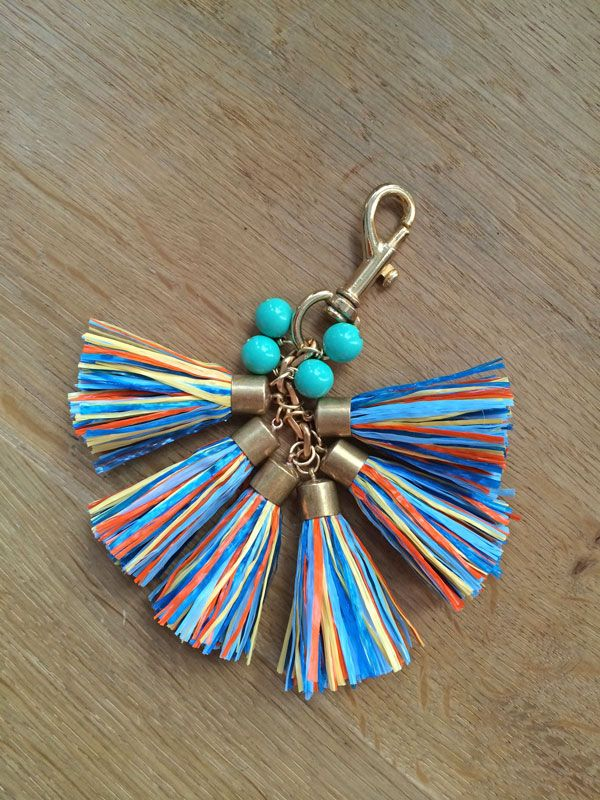 For part two of my DIY series {refer to part one here!} with Holst & Lee, we decided to make a tassel bag charm // key ring. This one is really easy. Making the tassels gets a little tedious si...