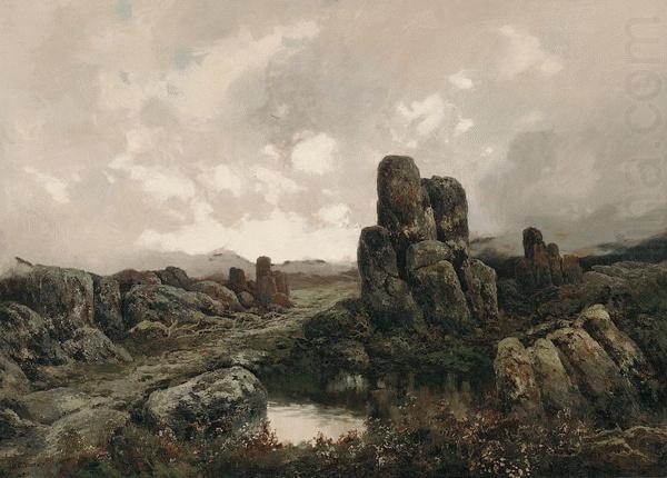 Piguenit: The Summit of the King William Range