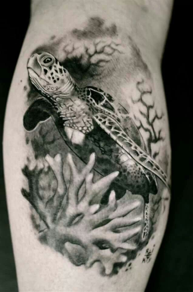 63 best Sea Life Tattoos images on Pinterest | Tattoo ...