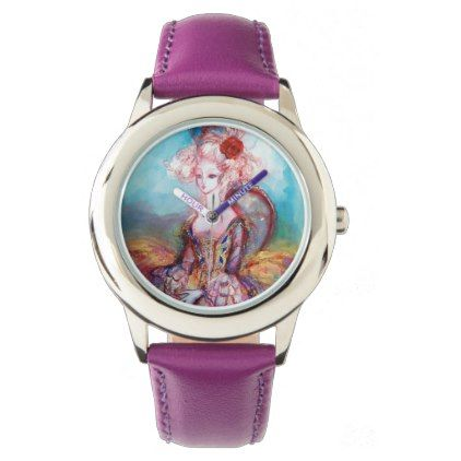 MADAME POMPADOUR ELEGANT BEAUTY FASHION WRIST WATCH - accessories accessory gift idea stylish unique custom