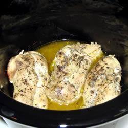 Poitrines de poulet ail et citron, à la mijoteuse @ qc.allrecipes.ca