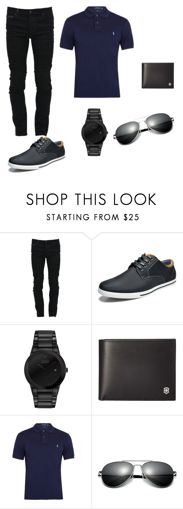 """""""baby boy"""" by asner-bond ❤ liked on Polyvore featuring Marcelo Burlon, Marc, Citizen, Victorinox Swiss Army, Polo Ralph Lauren, men's fashion and menswear"""
