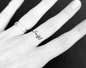 Temporary Tattoo | I am human | Arabic Tattoo Art | Arabic Tattoo | Finger Tattoo | Fake Tattoo | Mini Tattoo | handmade by misssfaith - pinned by pin4etsy.com