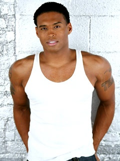 Texas Battle - Marcus Walton Barber Forrester chocolate hottness from Bold and the Beautiful