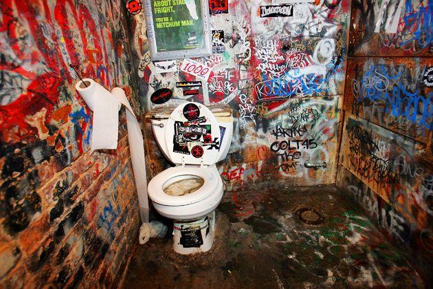 CBGBs Toilet NY