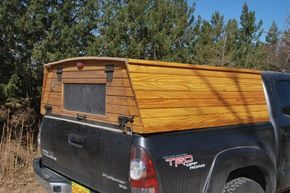 """A couple recent inquiries prompt this quick post about a wooden truck topper. The question that came up a few weeks ago was """"why would you make a topper instead of just buying one?"""" Well, I'm not..."""