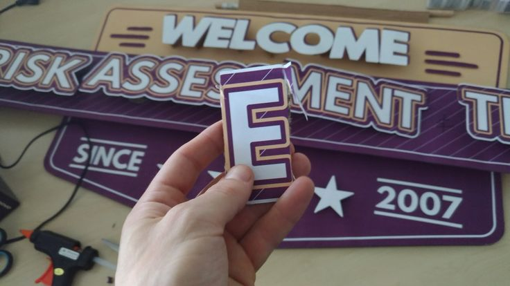 That time when I had to take an '' E'' out :))))) #ecrafted