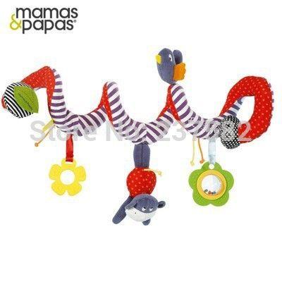Спираль активности коляска музыкальная висит автокресло детская кроватка Babyplay туристические игрушки детские кровати погремушки