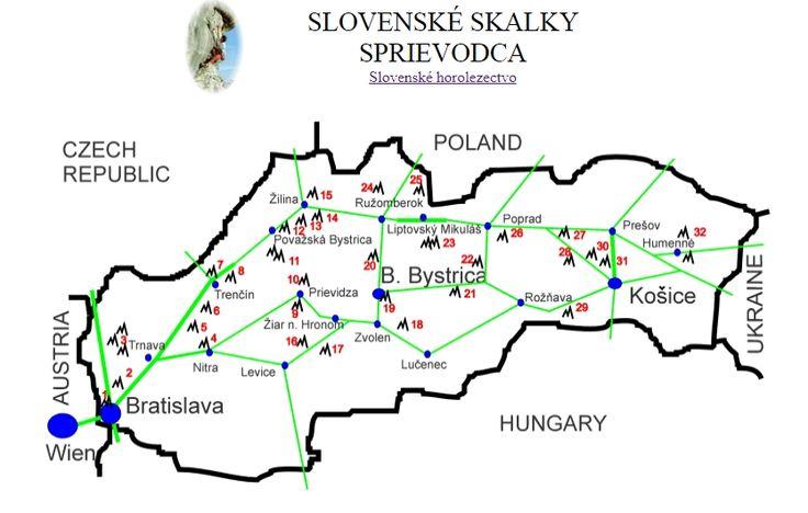 Skalky na Slovensku
