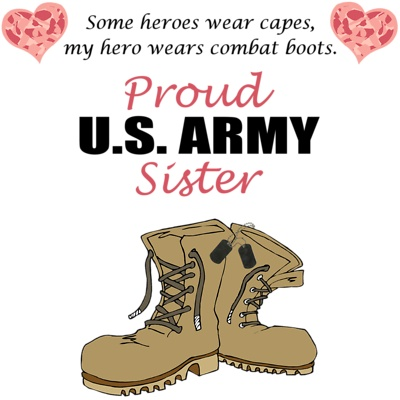 I am so PROUD to be an Army Sister!  I love you bubba! Army Strong - Hell Yeah!