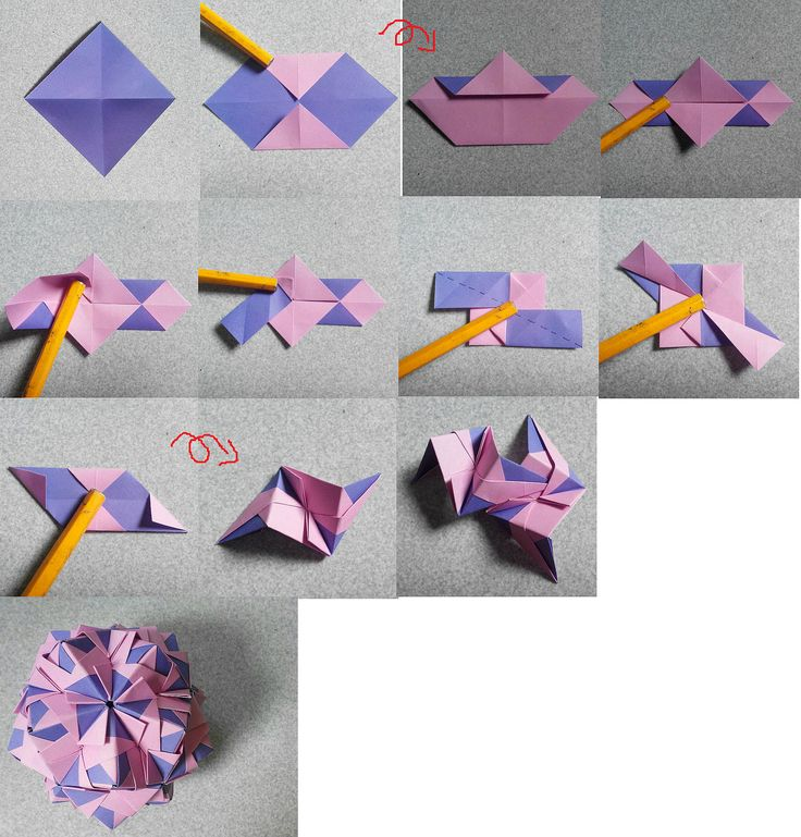 Units: 30  Paper: 7.5*7.5 cm (1:1)  Final height: ~ 8 cm  Joint: no glue