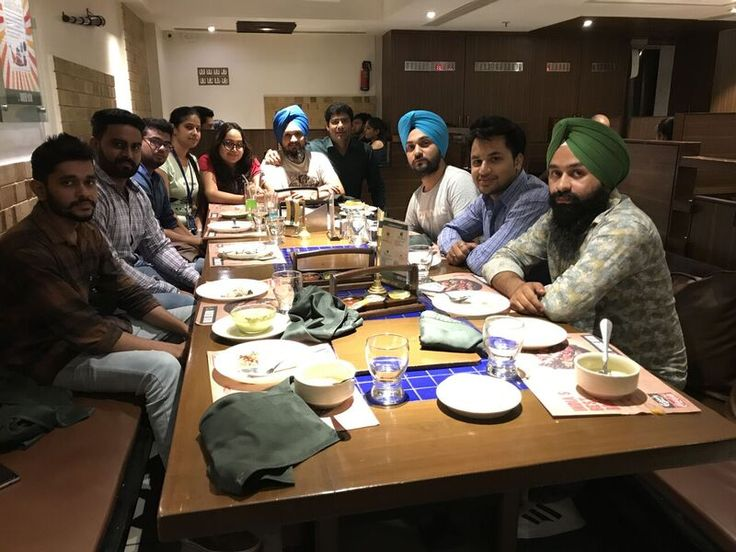 #Teamlunch at Barbeque Nation