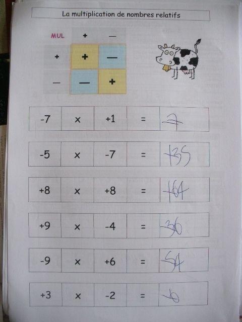 Les nombres relatifs - Le petit roi, enfant autiste