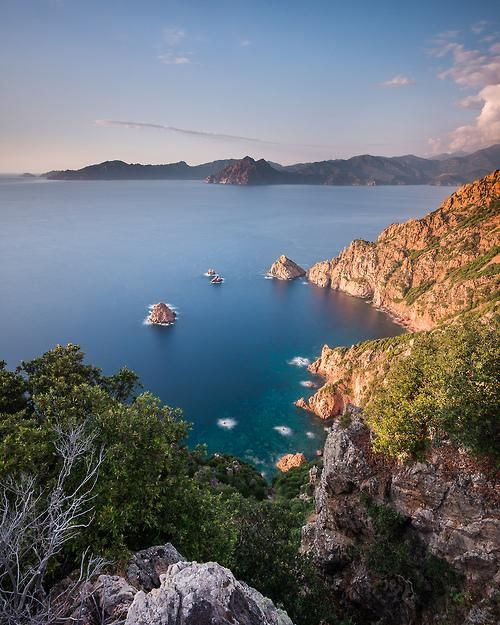 Bay of Porto in Corsica, #France. Photo by Vaidotas Miseikis.