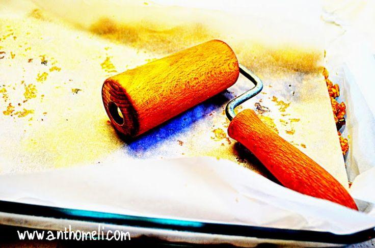 Ανθομέλι: Κρεμούλα από...βρώμη αλλά και σπιτικές μπάρες δημητριακών