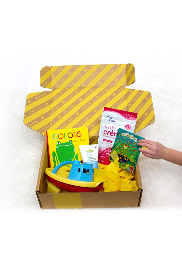 Let Citrus Lane do the shopping while you stick to the parenting! Just tell us your little one's age and gender. Pay one low monthly fee, and we send the best kids products right to your door! Use code PINTEREST for 50% OFF off your first box on a Subscription to Citrus Lane.